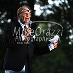 8/17/2017 Mike Orazzi | Staff Joseph Albano of Albano Ballet describes the performance in the garden during a benefit for the Petit Family Foundation in Plainville Thursday evening.