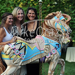 8/17/2017 Mike Orazzi | Staff Christine Petit with Jamie and Kimberly Erickson during a benefit for the Petit Family Foundation in Plainville Thursday evening.