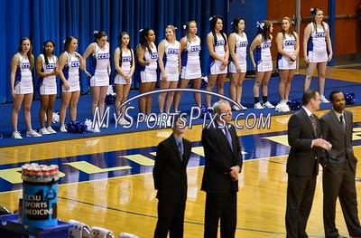 12/31/2014 Mike Orazzi | Staff Members of the CCSU cheerleading squad.