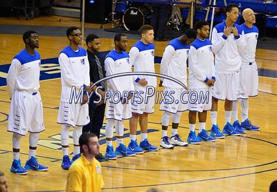 12/31/2014 Mike Orazzi | Staff Members of the CCSU Men's basketball team.