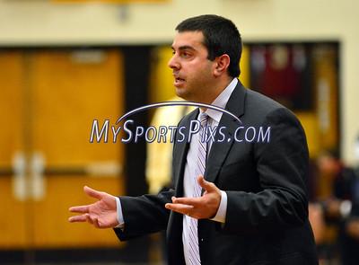 12/30/2014 Mike Orazzi | Staff New Britain Boys Basketball Head Coach Todd Stigliano.