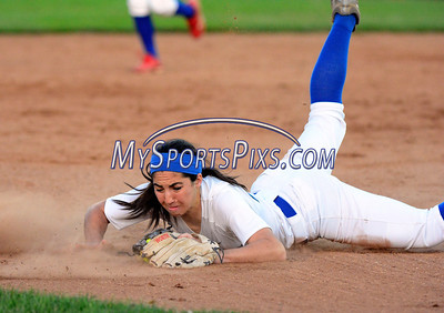 6/14/2014 Mike Orazzi | Staff Southington High School's Sydney Ferrante (13) during Saturday's Class LL Final at West Haven High School.