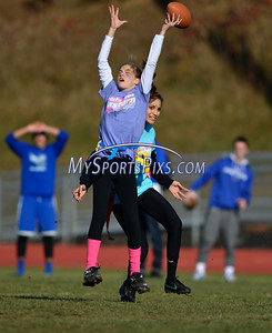 11/25/2015 Mike Orazzi | Staff The Bristol Eastern Powder Puff football game held Wednesday afternoon at BEHS.