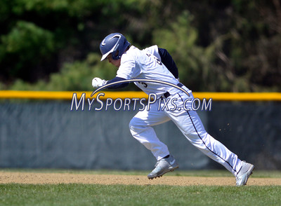 4/16/2016 Mike Orazzi | Staff Newington High School's Cooper Johnson (3) on his way to second base Saturday in Newington.