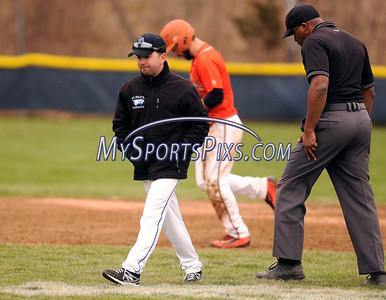 4/9/2016 Mike Orazzi   Staff St. Paul head baseball coach Victor Rinaldi.