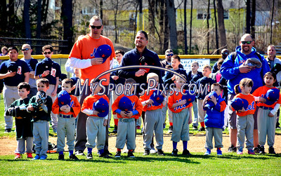4/16/2016 Mike Orazzi | Staff Opening day for the Forestville Little League Saturday morning.