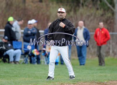 4/9/2016 Mike Orazzi   Staff Terryville High School baseball coach Pete Veleas.