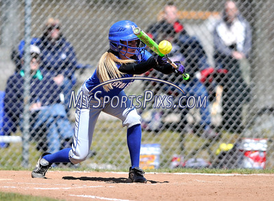 4/15/2016 Mike Orazzi | Staff Bristol Eastern's Makenzie Jankowski (1) on Friday at Eastern.