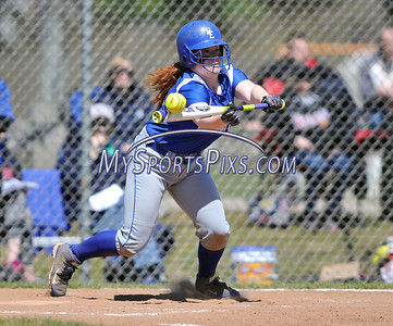 4/15/2016 Mike Orazzi | Staff Bristol Eastern's Nicole D'Amato (11) on Friday at Eastern.