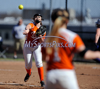 4/27/2016 Mike Orazzi | Staff Terryville High School's Alycia Calabrese (15) against Shepaug Wednesday afternoon.